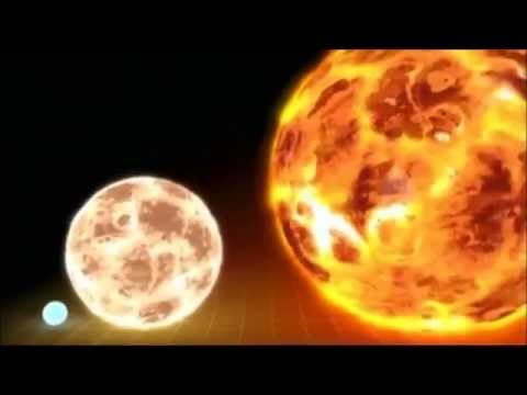 Our Suns Size Compared To Other Star Sizes - Mind Blow!
