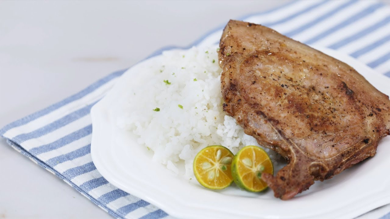 Fried Calamansi Pork Chops Recipe Yummy Ph Youtube