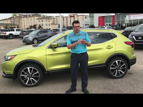 2019 Nissan Qashqai Walkthrough (Canada)