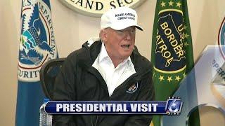 President Trump visit to McAllen, Texas