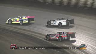 Knoxville Raceway Late Model Knoxville Nationals Night #2 9.13.19