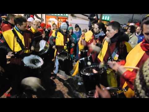 I tamburi dei Mercenari - Carnevale Ivrea 2014