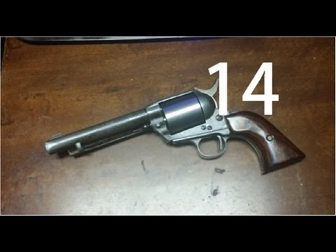 1880's single action army revolver built from scratch (part 14)
