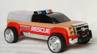 Automoblox T900 Rescue Truck Wooden Car Toys Машинки для детей