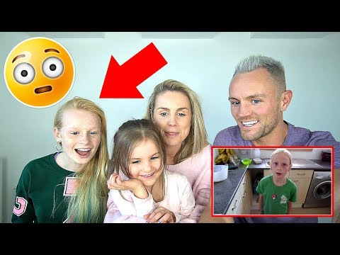 REACTiNG TO MiA'S FiRST EVER ViDEO **8 years old** 😂