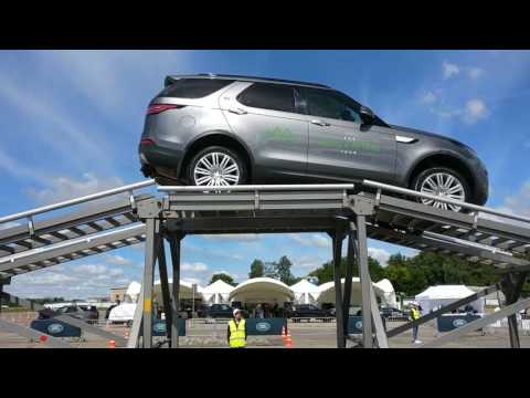 Jaguar Land Rover Tour 2017 Minsk Belarus