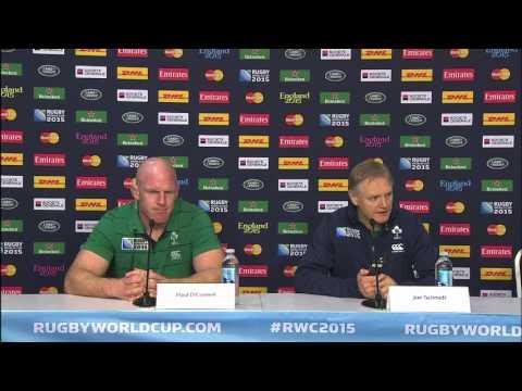 Ireland captain 'fines' RWC press officer