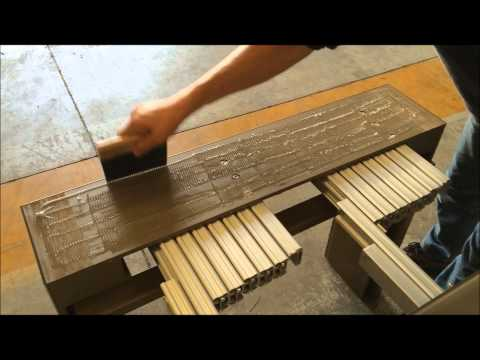 How to replace glass on Ozzio transformable furnitureYouTube