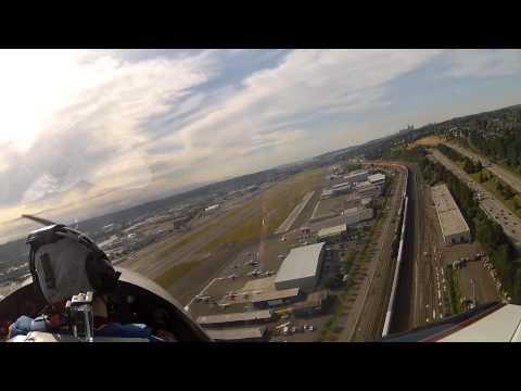 Landing on Runway 31R at Boeing Field