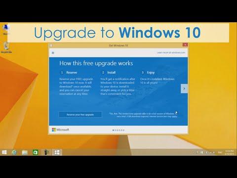 Free Upgrade to Windows 10 from Windows 7/8.1