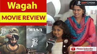 Wagah Movie Review | Vikram Prabhu | Ranya Rao - 2DAYCINEMA.COM