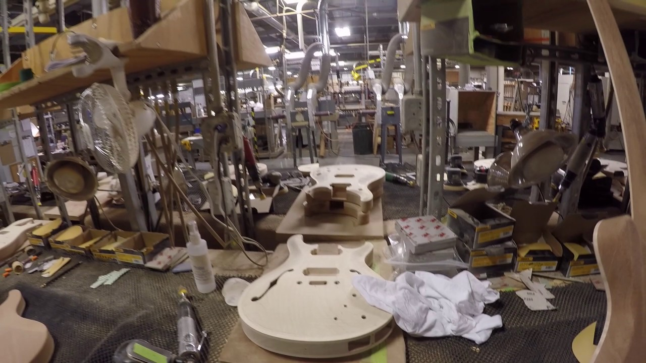 Another Trip Through The Paul Reed Smith Factory The Music Gallery Youtube