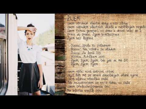 Olga Lounová  - Žijem - (official lyric video)