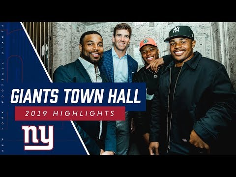 Giants host 2019 Town Hall at historic Beacon Theatre