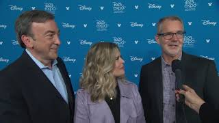 D23 2019 - Frozen II - Itw Jennifer Lee, Chris Buck And Peter Del Vecho (official Video)