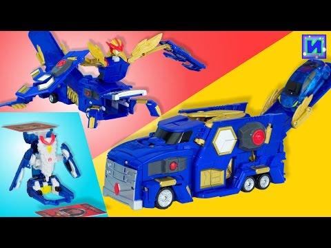 MeCard машинки. Трансформация игрушечной машинки робота. Turning MeCard