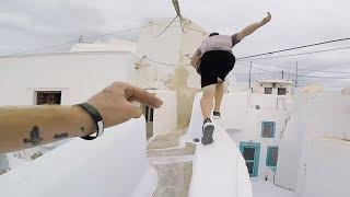 How Santorini becomes the Parkour island