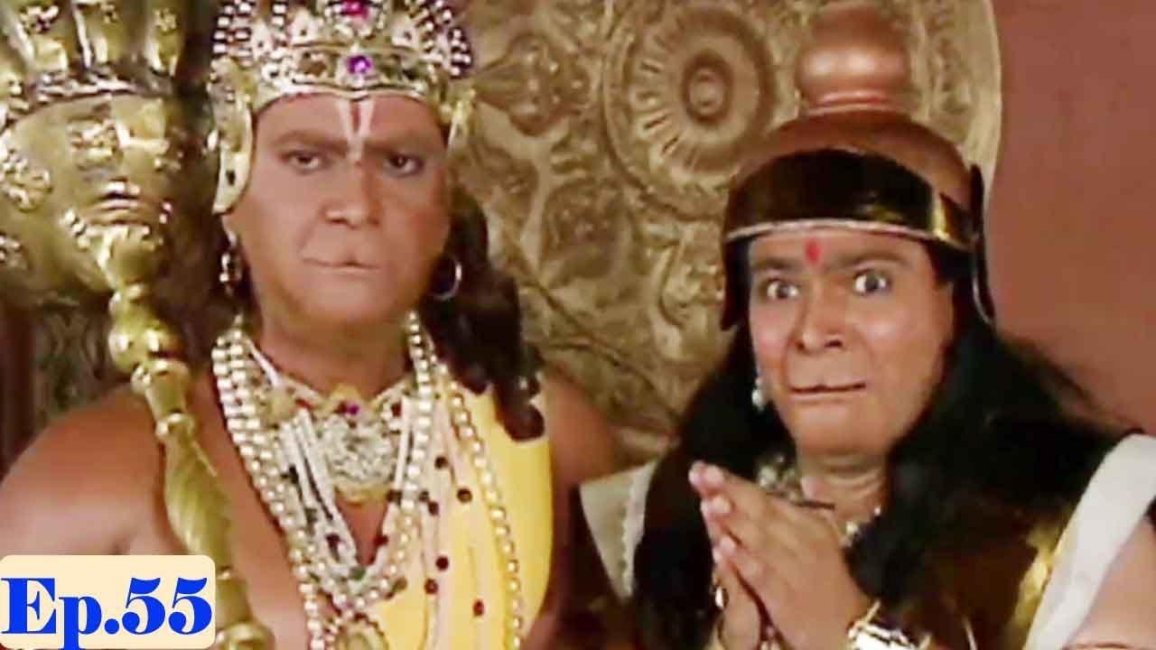 Download Jai Hanuman   Bajrang Bali   Hindi Serial - Full Episode 55
