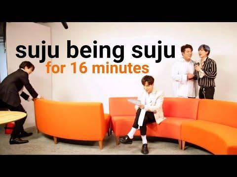 Suju Being Suju For 16 Minutes / A Loud Super Junior Compilation
