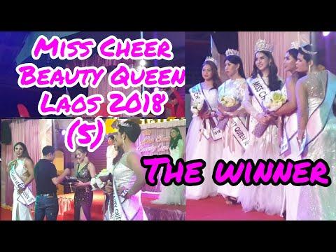 The winner р╕Ьр╕╣р╣Йр╕Кр╕░р╕Щр╕░ Miss Cheer Beauty Queen Laos 2018 р╕бр╕┤р╕кр╣Ар╕Кр╕╡р╕вр╕гр╣Мр╕Ър╕┤р╕зр╕Хр╕╡р╣Йр╕Др╕зр╕╡р╕Щ 2018 р║Щр║▓р║Зр║Зр║▓р║бр║кр║▓р║зр║Ыр║░р╗Ар║Юр║Ф 2 р║ер║▓р║з 2