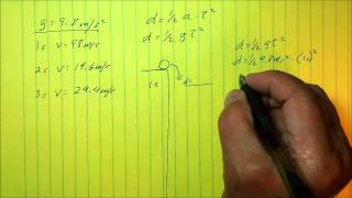 Understanding Acceleration: Calculating distance traveled for any falling object thumbnail