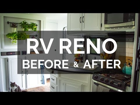 Before & After RV Renovation