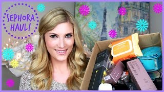 Big Sephora Haul ♥ Makeup, Skincare, and More! Thumbnail