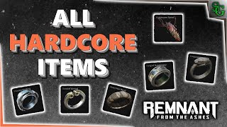 Remnant: From the Ashes - All 6 Hardcore Items (Rings and Amulets) screenshot 3