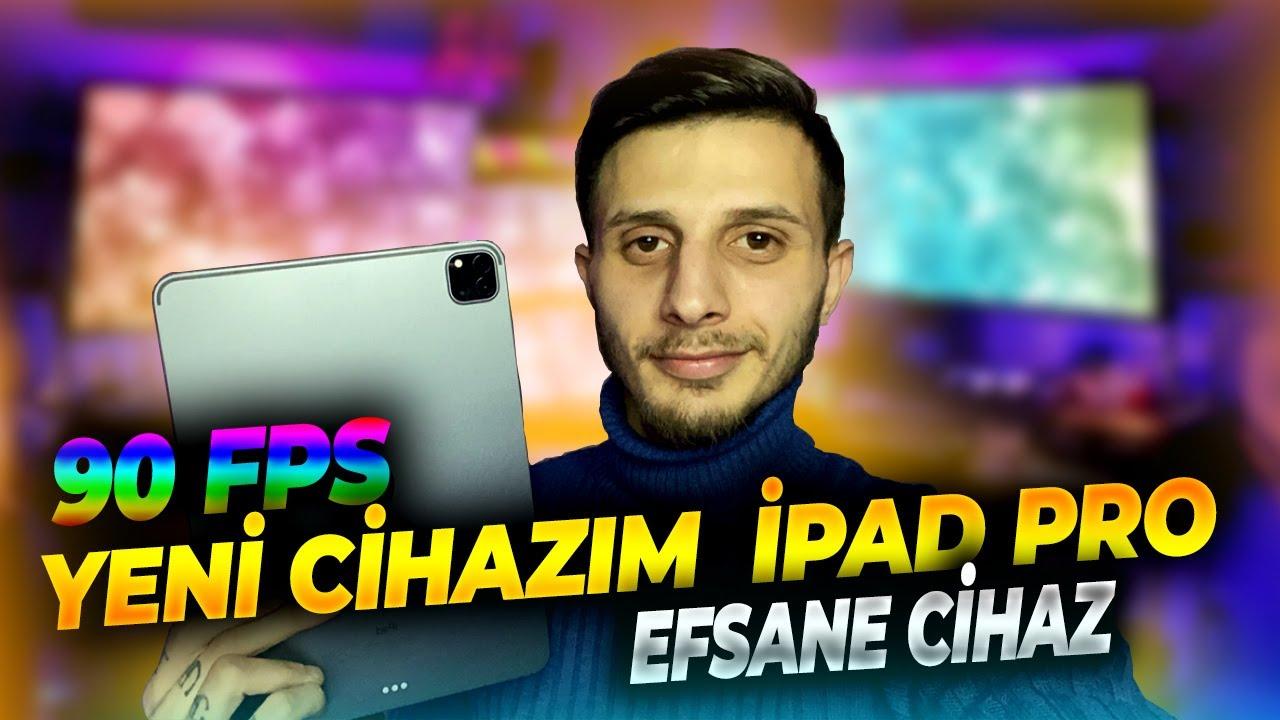 YENİ CİHAZIM İPAD PRO 90 FPS / BU CANAVARLA YARGI ...