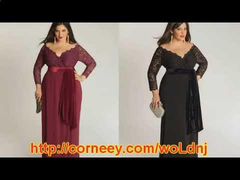 широкие платья для полных женщин