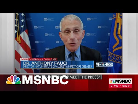 Dr. Fauci: Vaccine Hesitancy Could Create 'Two Types Of America'