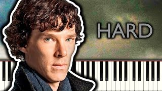 BBC SHERLOCK THEME - Piano Tutorial