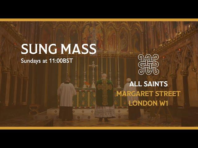 Sung Mass for Trinity 1