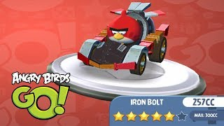 Angry Birds Go iPad Gameplay #9 - Iron Bolt 257 CC Kart Fully Upgraded - Games for Kids