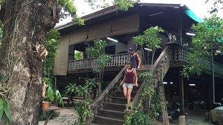 អ្នកស្រីប៊ុន រឿង៖ «ផ្ទះកេរដូនតា ទោះវីឡាក៏ខ្ញុំមិនប្ដូរដែរ»  Old House  Battambang
