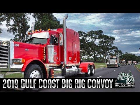 Gulf Coast Big Rig Truck Show - 2019 Convoy