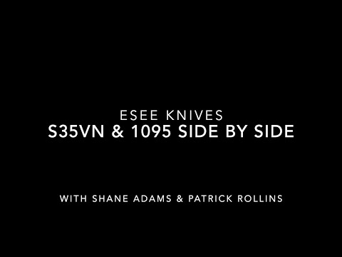 ESEE 3 in S35vn and 1095: Side by Side