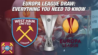 Europa League Draw | Shakhtyor Soligorsk Or NK Domzale? | 1st Game At The Olympic Stadium