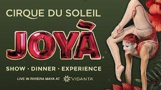 Catch a Glimpse of the JOYÃ in full 360 degree Video! | Cirque du Soleil thumbnail