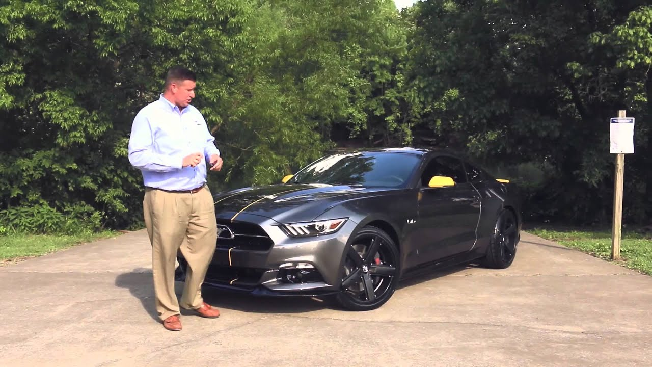 Ford Of Murfreesboro >> 2015 Ford Sherrod Mustang Magnetic Walk Around - YouTube