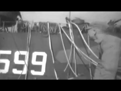 Marine Action On Beach Of Okinawa, 04/04/1945 (full)