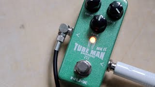 NUX Tube Man MKII Overdrive (Обзор)