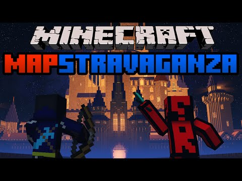 Minecraft Mapstravaganza! Hearthstone Champions, Rock Paper Scissors and Mario Meth Race!