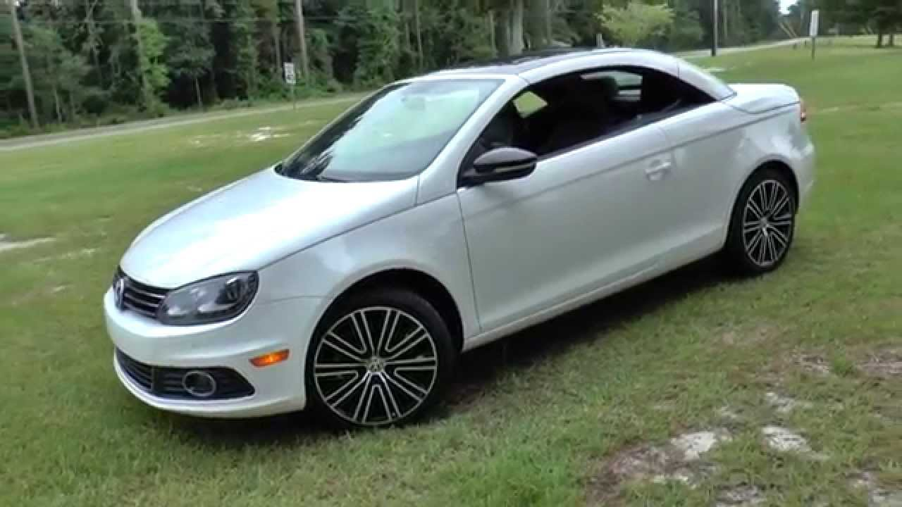 best review 2014 vw eos sport convertible youtube. Black Bedroom Furniture Sets. Home Design Ideas