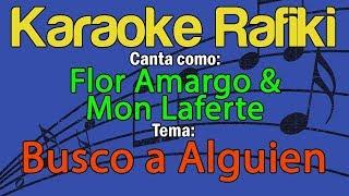 Flor Amargo & Mon Laferte - Busco a Alguien Karaoke Demo
