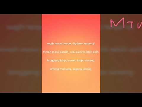 Soimah - Sugih Tanpo Bondo Full Version