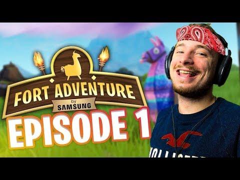 ma-nouvelle-sÉrie-fortnite:-fort-adventure-!