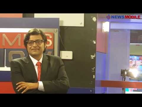 When Arnab quit Times Now this is how he broke the news to the team : Exclusive video