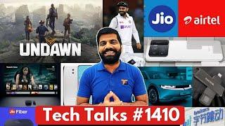 Tech talks # 1410-PUBG Mobile UNDAWN, Jio-AirTel Deal, LG Rollable Phone, New Apple TV, vivo Nex 5