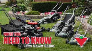 Lawn Mower Basics From Canadian Tire